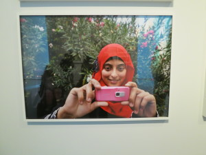"""Photograph from """"She Who Tells A Story"""" at the MFA, Boston"""