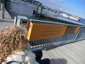 The Harborwalk, Boston, near the Institute for Contemporary Art