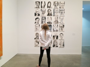 """Amy Sillman's exhibit, """"one lump or two"""" at the ICA, Boston"""