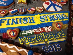 Gingerbread work of art featuring Boston