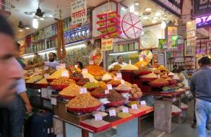 Spice shop, Old Delhi, 2014